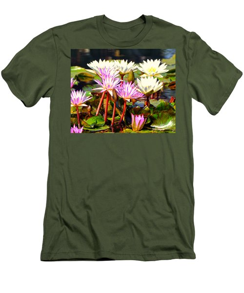 Men's T-Shirt (Slim Fit) featuring the photograph Beauty On The Water by Marty Koch