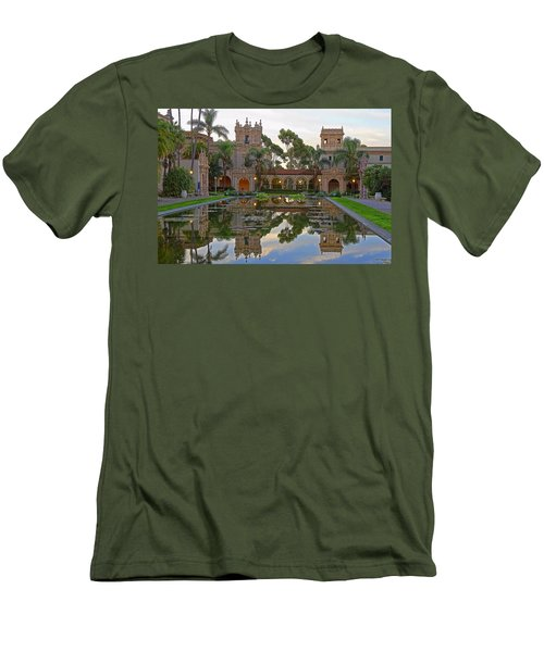 Men's T-Shirt (Slim Fit) featuring the photograph Before The Crowds by Gary Holmes