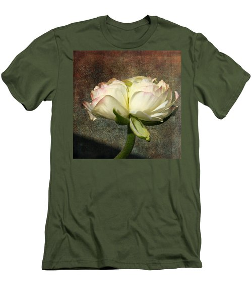 Begonia With A Tint Of Pink Men's T-Shirt (Athletic Fit)