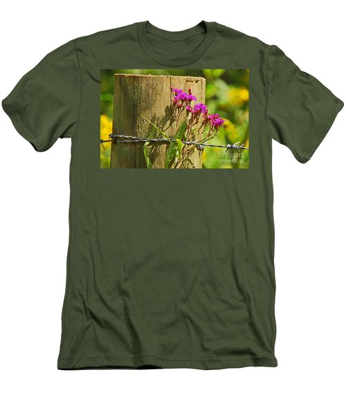 Behind The Fence Men's T-Shirt (Athletic Fit)