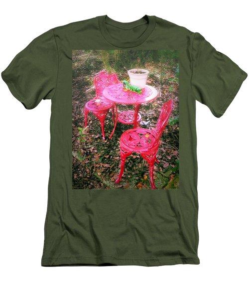Believe Men's T-Shirt (Slim Fit) by Carlos Avila
