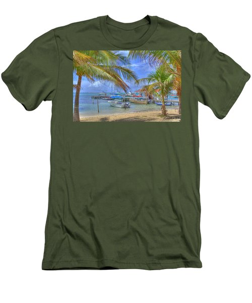 Belize Hdr Men's T-Shirt (Slim Fit)