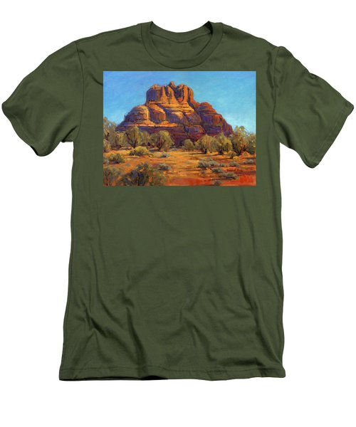 Bell Rock, Sedona Arizona Men's T-Shirt (Athletic Fit)