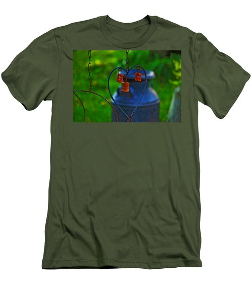 Men's T-Shirt (Slim Fit) featuring the photograph Bells by Rowana Ray