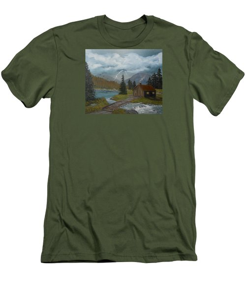 Big Storms A Comin' Men's T-Shirt (Slim Fit) by Sheri Keith