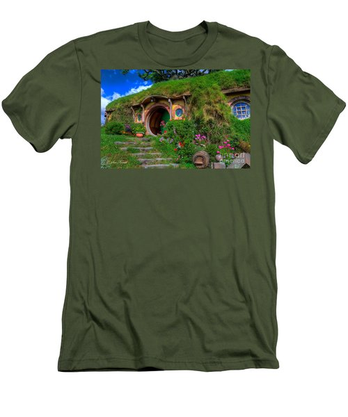 Bilbo Baggin's House 5 Men's T-Shirt (Athletic Fit)