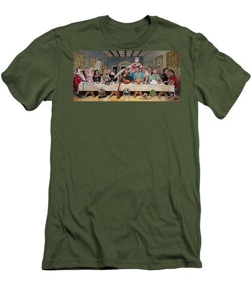 Bills Last Supper Men's T-Shirt (Athletic Fit)