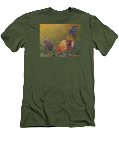 Biltmore Chickens  Men's T-Shirt (Athletic Fit)