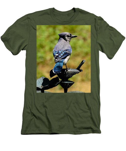 Bird On A Bird Men's T-Shirt (Athletic Fit)