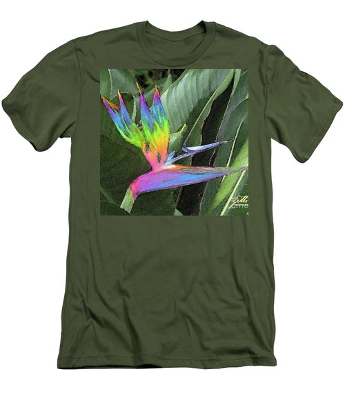 Bird Ow  Paradise Men's T-Shirt (Athletic Fit)