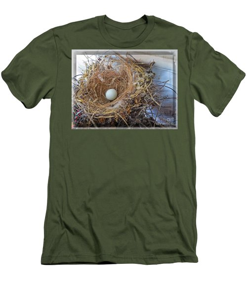 Birds Nest - Perfect Home Men's T-Shirt (Slim Fit) by Ella Kaye Dickey