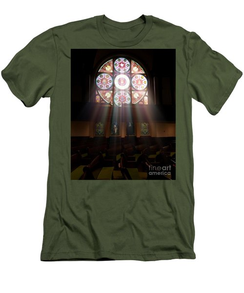 Birmingham Stained Glass Men's T-Shirt (Athletic Fit)