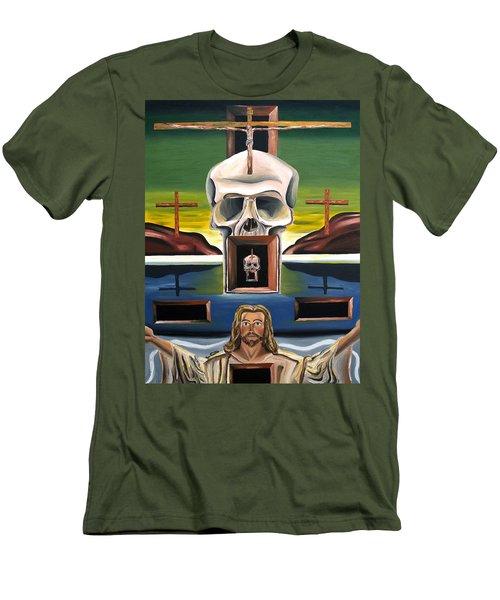 Blasphemixition Men's T-Shirt (Slim Fit) by Ryan Demaree