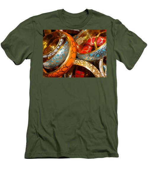 Men's T-Shirt (Slim Fit) featuring the photograph Bling by Ira Shander