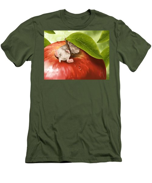 Bliss Men's T-Shirt (Slim Fit) by Veronica Minozzi