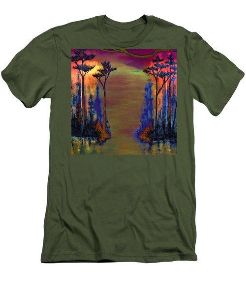 Blood Roots Men's T-Shirt (Athletic Fit)