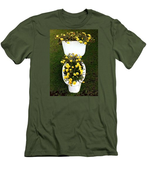 Blooming Loo Men's T-Shirt (Athletic Fit)