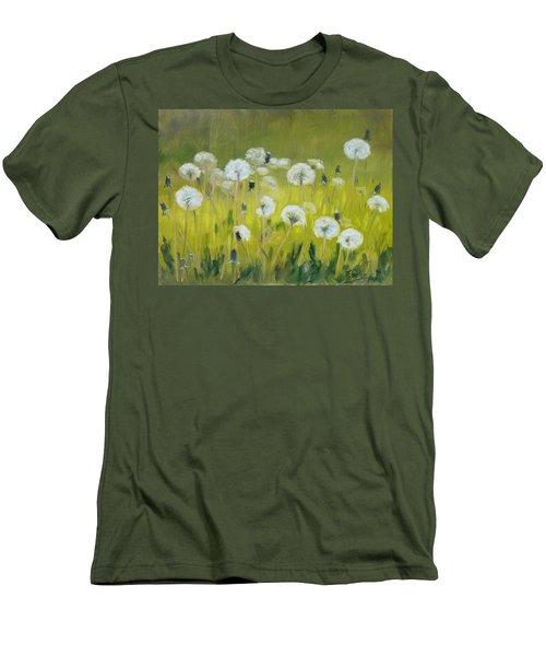 Blow Balls Men's T-Shirt (Slim Fit) by Irek Szelag