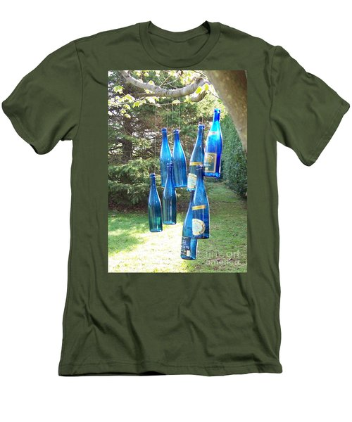 Blue Bottle Tree Men's T-Shirt (Athletic Fit)