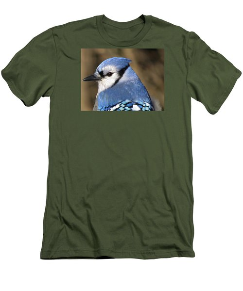 Blue Jay Profile Men's T-Shirt (Athletic Fit)