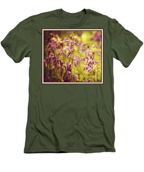 Bluebell In The Woods Men's T-Shirt (Slim Fit) by Spikey Mouse Photography