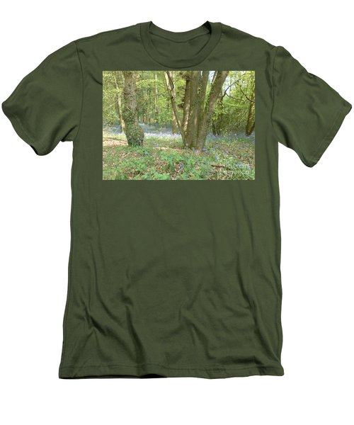 Bluebell Wood Men's T-Shirt (Slim Fit) by John Williams