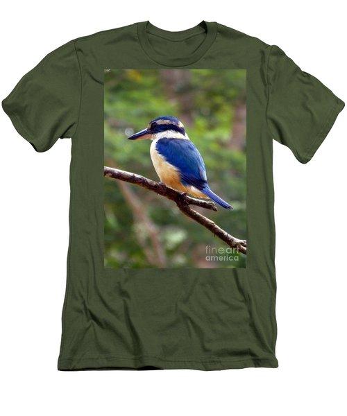 Bluebird In Suva Fiji Men's T-Shirt (Athletic Fit)