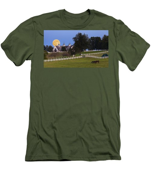 Bluegrass Moonrise Men's T-Shirt (Athletic Fit)