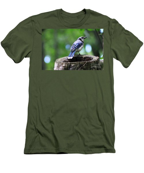 Bluejay Men's T-Shirt (Athletic Fit)