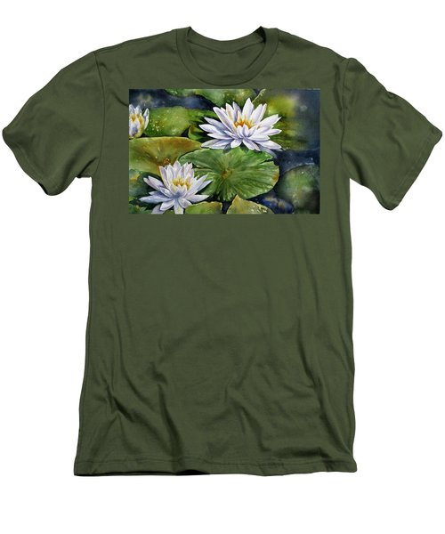 Boardwalk Lilies Men's T-Shirt (Slim Fit)