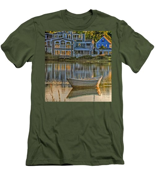 Boat In Late Afternoon Men's T-Shirt (Athletic Fit)