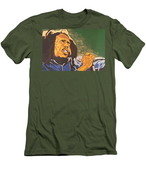 Bob Marley Men's T-Shirt (Athletic Fit)