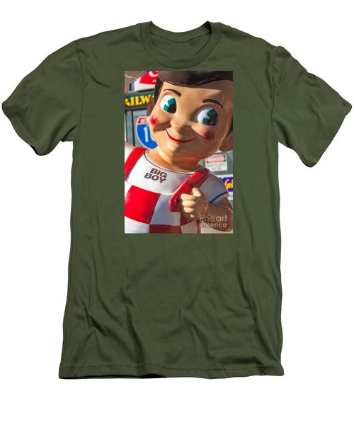 Bob's Big Boy Men's T-Shirt (Slim Fit) by Jerry Fornarotto
