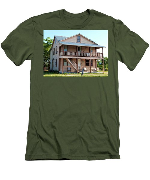 Men's T-Shirt (Slim Fit) featuring the photograph Bodden House by Amar Sheow