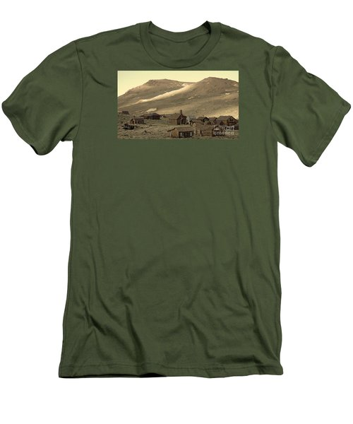 Men's T-Shirt (Slim Fit) featuring the photograph Bodie California by Nick  Boren