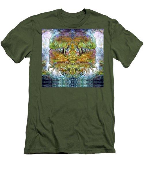 Men's T-Shirt (Slim Fit) featuring the digital art Bogomil Variation 11 by Otto Rapp
