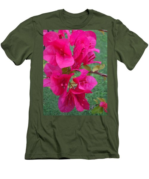 Bougainvillea Dream #2 Men's T-Shirt (Athletic Fit)