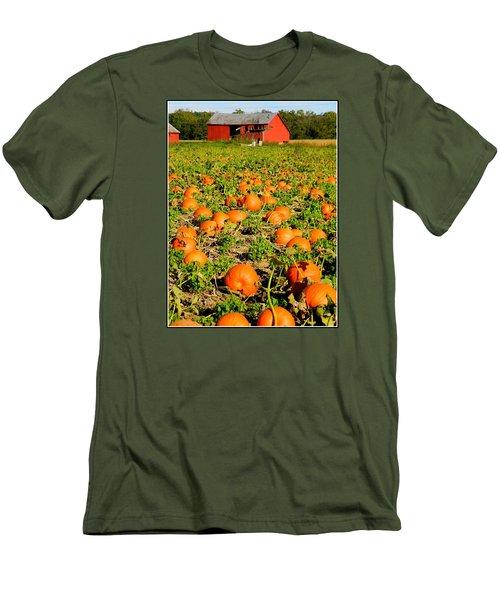 Bountiful Crop Men's T-Shirt (Slim Fit) by Kathy Barney