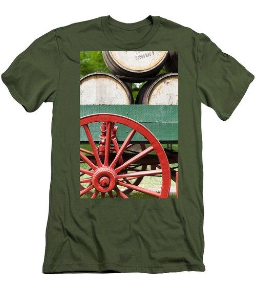 Bourbon Wagon Men's T-Shirt (Athletic Fit)