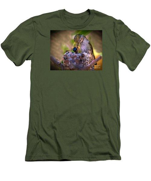 Breakfast Men's T-Shirt (Slim Fit) by Robert Bales