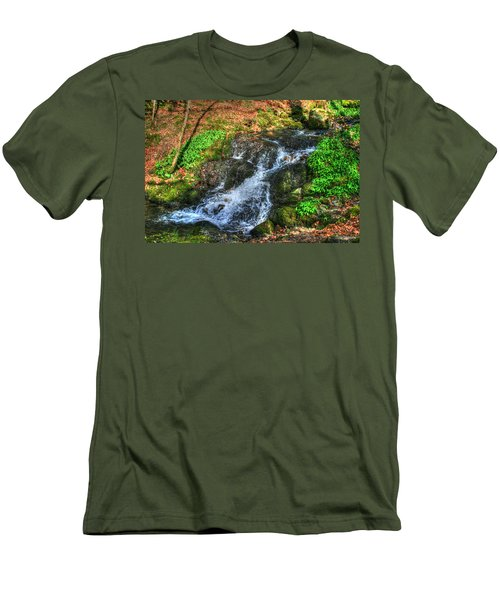 Men's T-Shirt (Slim Fit) featuring the photograph Breath Deeply by Doc Braham