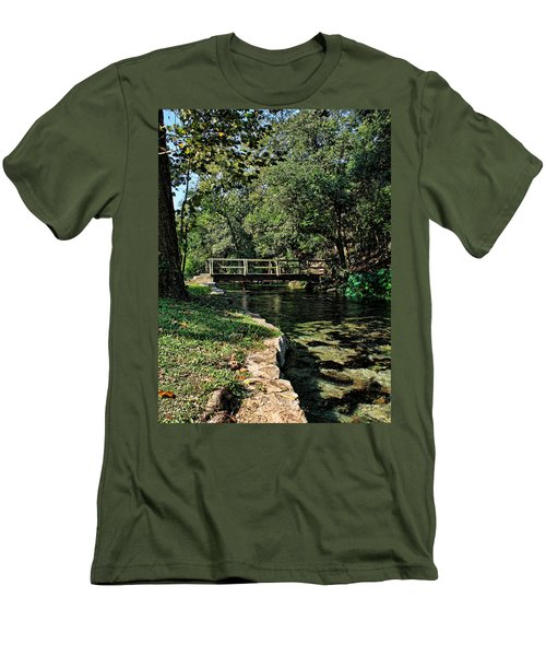 Bridge Of Serenity Men's T-Shirt (Athletic Fit)