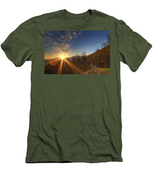Brilliant Rays Men's T-Shirt (Athletic Fit)