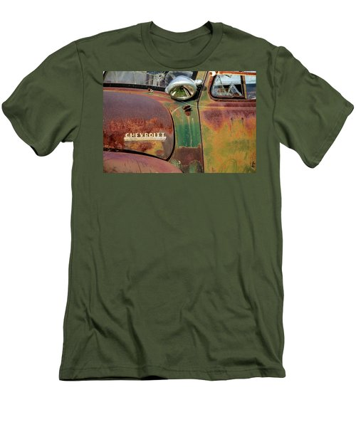 Men's T-Shirt (Slim Fit) featuring the photograph Broken Dreams by Steven Bateson