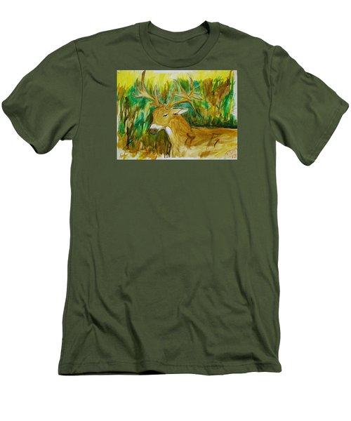 Buck Of A Lifetime Men's T-Shirt (Athletic Fit)