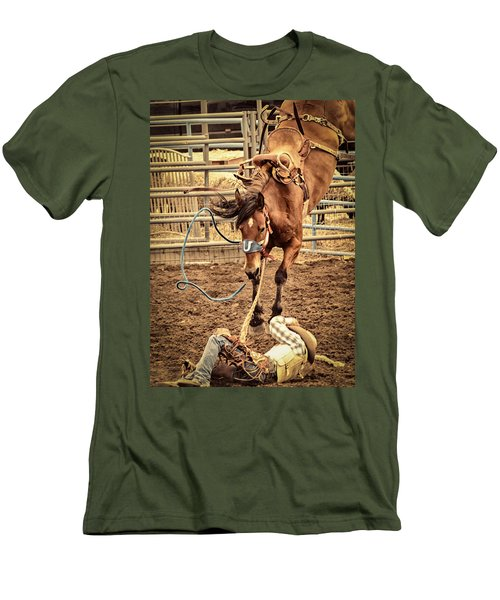 Bucking Men's T-Shirt (Athletic Fit)