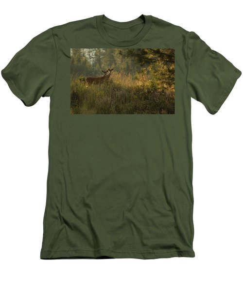 Bucks In Velvet Men's T-Shirt (Athletic Fit)