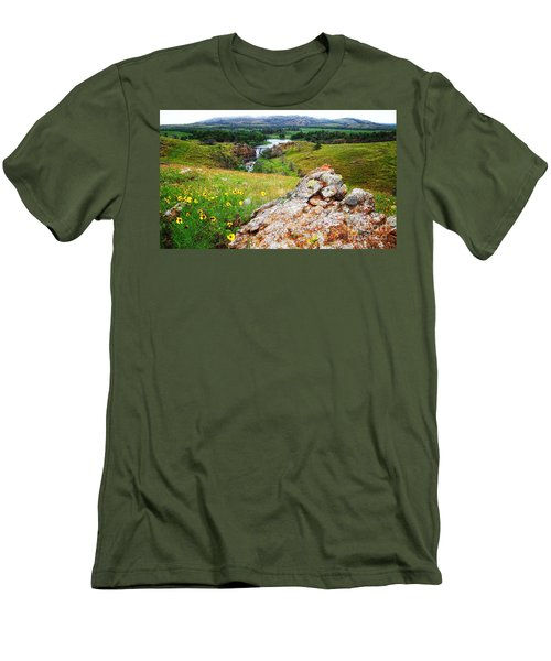Buford Lake  Men's T-Shirt (Athletic Fit)