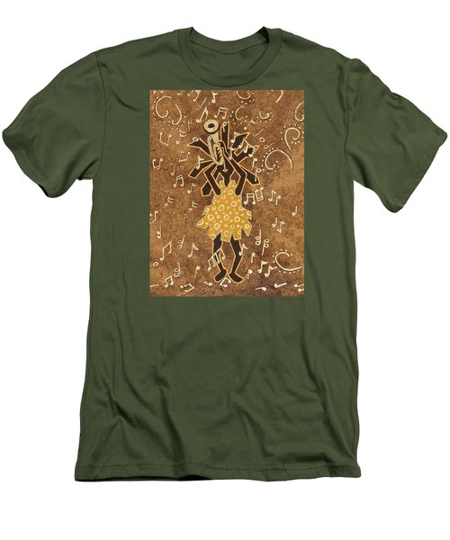 Bugle Player Men's T-Shirt (Athletic Fit)