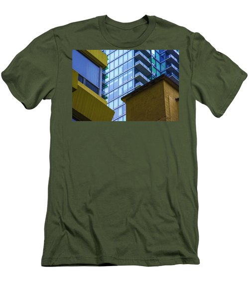 Building Abstract No.1 Men's T-Shirt (Athletic Fit)